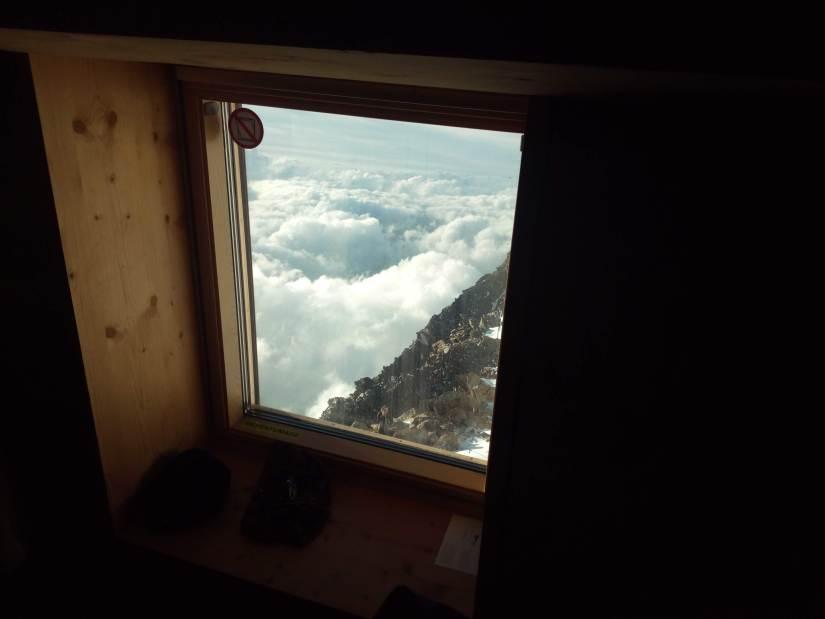 Gouter en los Alpes