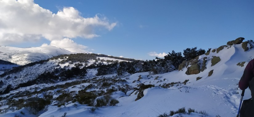 Nieve en el cordal