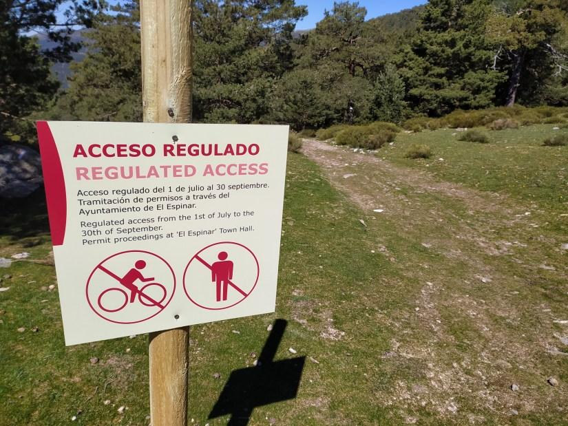 El acceso Regulado