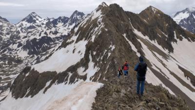 Ruta al pico Musales