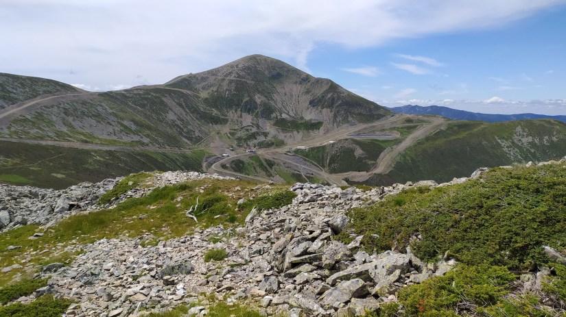 Ruta al Pico San Lorenzo