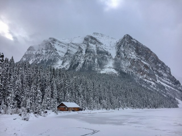 Lake Louise Winter Wonderland The Canadian Rockies