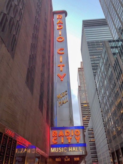 Radio City Hall Sign