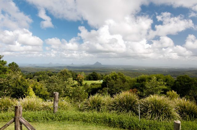 Leaving room for unplanned activities like this overlook of the Glasshouse Mountains in Queensland, is important when planning an adventure