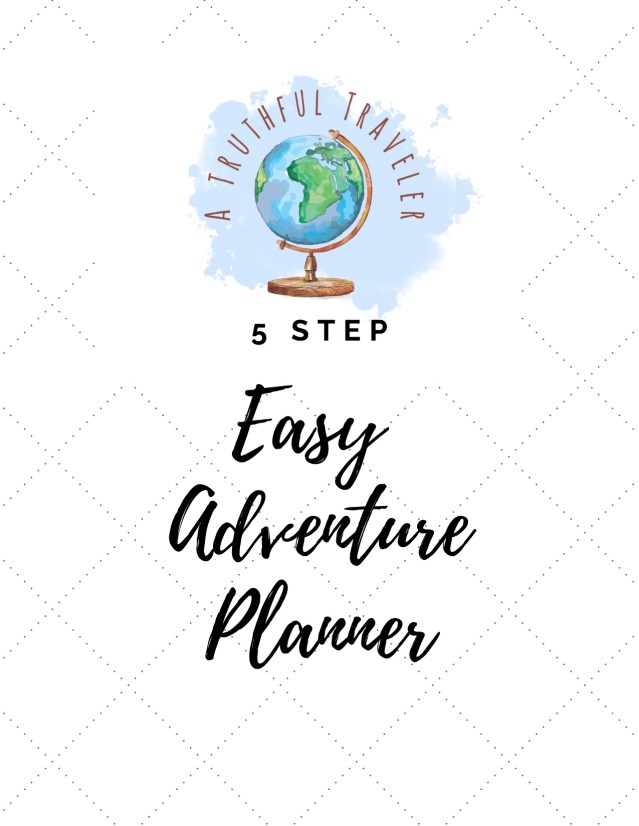 A graphic displaying an adventure planner, that you can use to find out what kind of traveler you are
