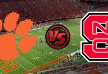 Clemson at NC State