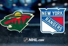 Minnesota Wild vs. New York Rangers