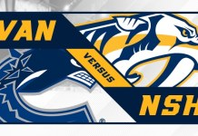 Nashville Predators at Vancouver Canucks