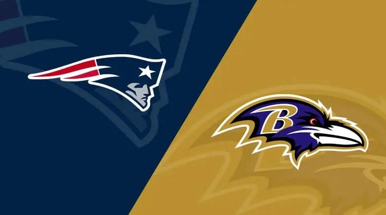 Sunday Night Football Pick & Preview – New England Patriots @ Baltimore Ravens