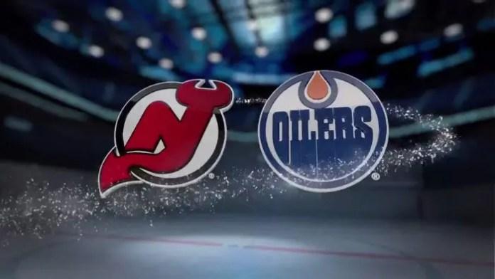 New Jersey Devils at Edmonton Oilers