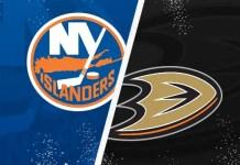New York Islanders vs. Anaheim Ducks