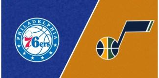 Philadelphia 76ers vs Utah Jazz
