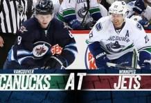 Vancouver Canucks at Winnipeg Jets