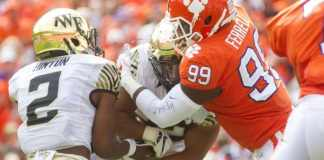 Wake Forest at Clemson