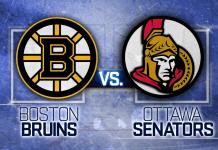 Boston Bruins vs. Ottawa Senators