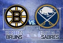 Buffalo Sabres at Boston Bruins