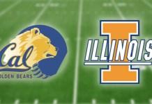 California Golden Bears vs Illinois Fighting Illini - Redbox Bowl