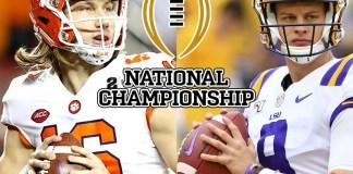 Clemson Tigers vs LSU Tigers - Odds, Pick & Prediction - National Championship