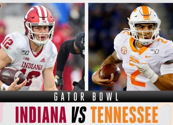 Indiana Hoosiers vs Tennessee Volunteers - Gator Bowl