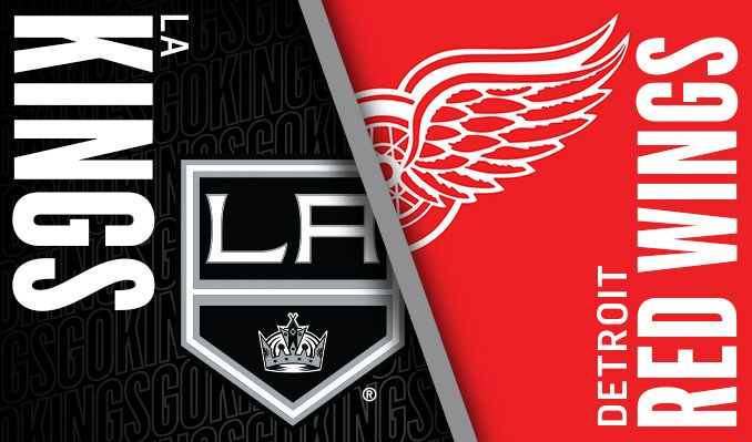 Los Angeles Kings at Detroit Red Wings