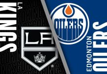 Los Angeles Kings at Edmonton Oilers
