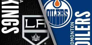 Los Angeles Kings at Edmonton Oilers