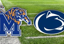 Memphis Tigers vs Penn State Nittany Lions