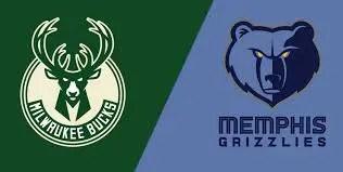Milwaukee Bucks at Memphis Grizzlies