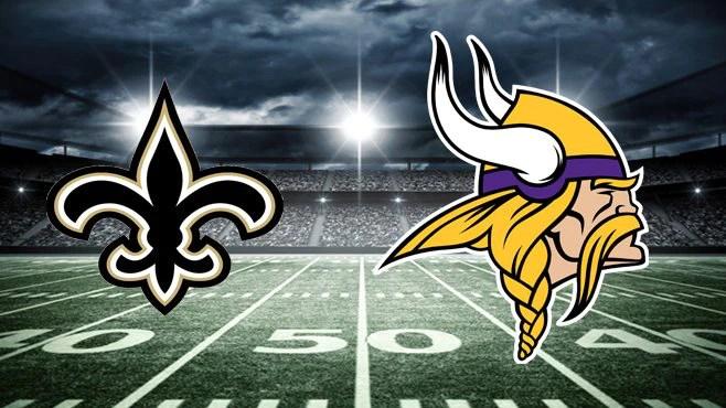 Minnesota Vikings vs New Orleans Saints
