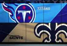 New Orleans Saints at Tennessee Titans