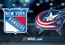 New York Rangers vs. Columbus Blue Jackets