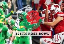 Oregon Ducks vs Wisconsin Badgers - Rose Bowl