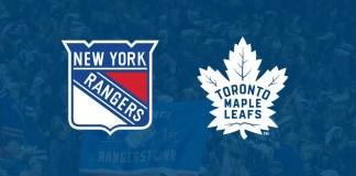 Toronto Maple Leafs vs. New York Rangers
