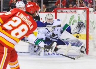 Vancouver Canucks at Calgary Flames