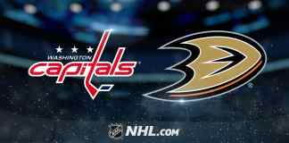 Washington Capitals vs. Anaheim Ducks