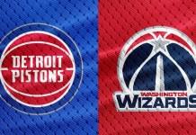 Washington Wizards at Detroit Pistons