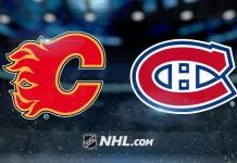 Calgary Flames vs. Montreal Canadiens