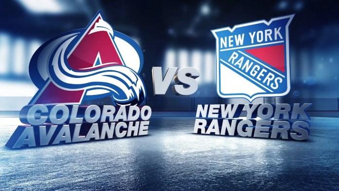 Colorado Avalanche vs. New York Rangers