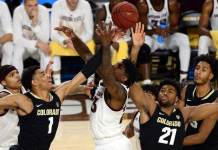 Colorado Buffaloes vs. Arizona State Sun Devils