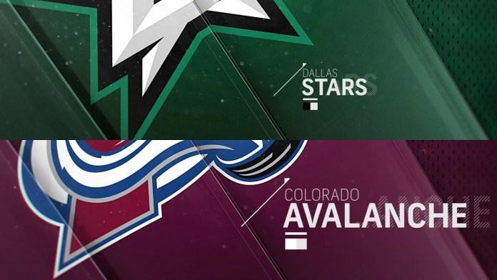 Dallas Stars at Colorado Avalanche