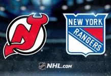 New Jersey Devils vs. New York Rangers