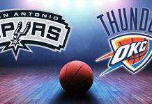Oklahoma City Thunder vs San Antonio Spurs