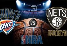 Oklahoma City Thunder vs. Brooklyn Nets