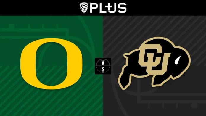 Oregon Ducks vs. Colorado Buffaloes