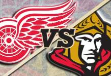 Ottawa Senators at Detroit Red Wings