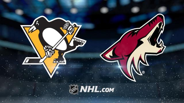 Pittsburgh Penguins vs. Arizona Coyotes