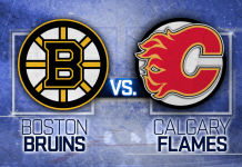 Boston Bruins vs. Calgary Flames