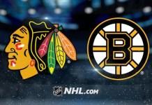 Boston Bruins vs. Chicago Blackhawks