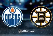 Boston Bruins vs. Edmonton Oilers