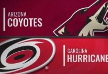 Carolina Hurricanes vs. Arizona Coyotes